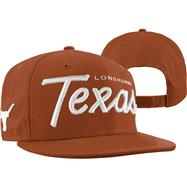 Texas Longhorns Orange Headliner Solid Snapback Adjustable Hat