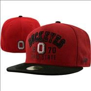 Ohio State Buckeyes Word Knock 59Fifty Fitted Hat