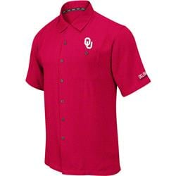 Oklahoma Sooners Bermuda Camp Shirt