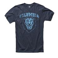Columbia Lions Heathered Navy Rockers Ring Spun T-Shirt