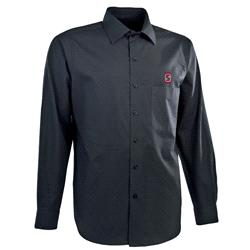 Stanford Cardinal Black Stoic Long Sleeve Dress Shirt