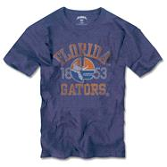 Florida Gators '47 Brand Vintage 'Gator Over Florida' Scrum Tee