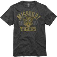 Missouri Tigers '47 Brand Vintage Scrum Tee