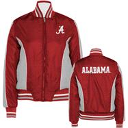 Alabama Crimson Tide Women's Full-Zip Reversible Polyester Jacket