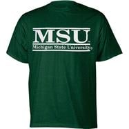 Michigan State Spartans Dark Green The Bar T-Shirt from The Game