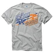 Kentucky Wildcats vs Tennessee Volunteers Stance Rivalry T-Shirt