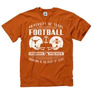 Texas Longhorns vs Iowa State Retro Clash T-Shirt