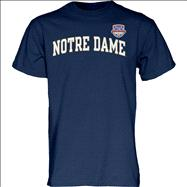 Notre Dame Fighting Irish 2013 BCS National Championship Game Arch T-Shirt - Navy