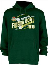 Oregon Ducks 2013 Fiesta Bowl Bound Hooded Sweatshirt