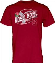Stanford Cardinal 2013 Rose Bowl Bound T-Shirt