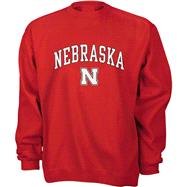 Nebraska Cornhuskers Kids/Youth Perennial Crewneck Sweatshirt