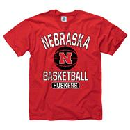 Nebraska Cornhuskers Red Youth Ballin' T-Shirt