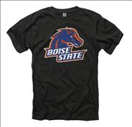 Boise State Broncos Black Mascot Ring Spun T-Shirt