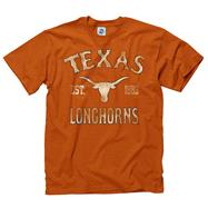 Texas Longhorns Dark Orange Trademark T-Shirt