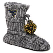 West Virginia Mountaineers Women's Knit Fashion Bootie