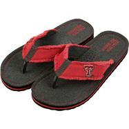 Texas Tech Red Raiders Team Color Flip Flop