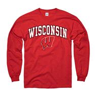 Wisconsin Badgers Red Perennial II Long Sleeve T-Shirt