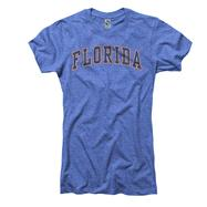 Florida Gators Women's Heather Royal Tradition Ring Spun T-Shirt