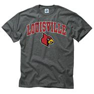 Louisville Cardinals Dark Heather Perennial II T-Shirt