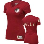 Florida State Seminoles Women's Burgundy Victory V-Neck T-Shirt