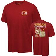 USC Trojans Cardinal Rings T-Shirt