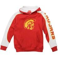 USC Trojans Youth Cardinal Rush Hooded Sweatshirt
