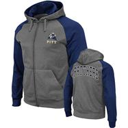 Pittsburgh Panthers Navy Swift Full-Zip Hooded Sweatshirt