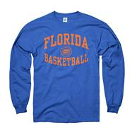 Florida Gators Royal Reversal Basketball Long Sleeve T-Shirt