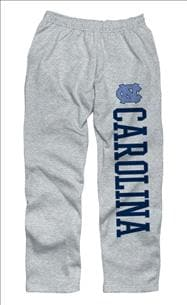 North Carolina Tar Heels Grey Couch Island Sweatpants
