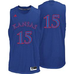 Kansas Jayhawks Royal Bleed Out #23 Replica Basketball Jersey