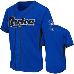 Duke Blue Devils Royal Bullpen Baseball Jersey