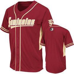 Florida State Seminoles Garnet Youth Bullpen Baseball Jersey