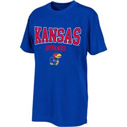 Kansas Jayhawks Royal Youth Scoreboard T-Shirt