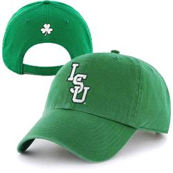 LSU Tigers '47 Brand St. Patty's Day Cleanup Adjustable Hat