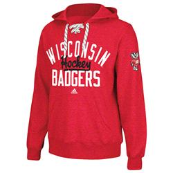 Wisconsin Badgers College Classic Tie Up Hooded Sweater