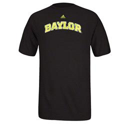 Baylor Bears adidas Impact Wordmark T-Shirt -Black