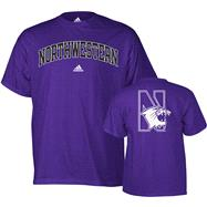 Northwestern Wildcats adidas Relentless T-Shirt