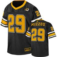Missouri Tigers Youth Black Stadium Football Jersey