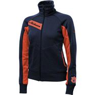 Auburn Tigers Women's Navy Columbia Velocity Track Jacket