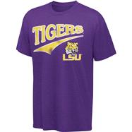 LSU Tigers Purple Tailsweep T-Shirt
