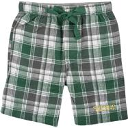 Oregon Ducks Dark Green/Grey Legend Flannel Shorts