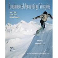 Fundamental Accounting Principles Vol 1 with Connect Plus
