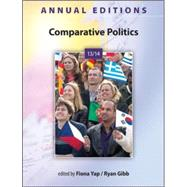 Annual Editions: Comparative Politics 13/14,9780078136009