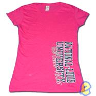 NLU Pink Since 1886 Fitted Tee