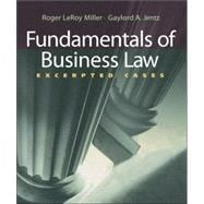 Fundamentals of Business Law : Excerpted Cases