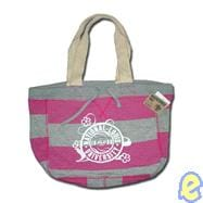 NLU Pink/Heather Stripe Beachcomber Bag