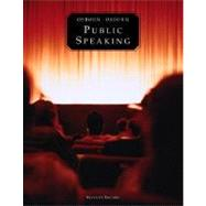 Public Speaking (with MySpeechLab)