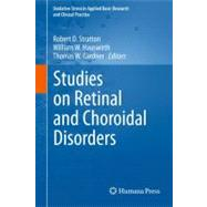 Studies on Retinal and Choroidal Disorders,9781617796050