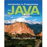 Introduction to Programming with Java: A Problem Solving Approach,9780073376066