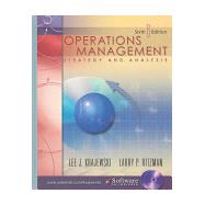 Operations Management : Strategy and Analysis,9780131396104